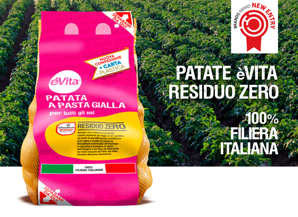 Patate eVita Residuo Zero Romagnoli F.lli Spa 1 classificato New Entry 1