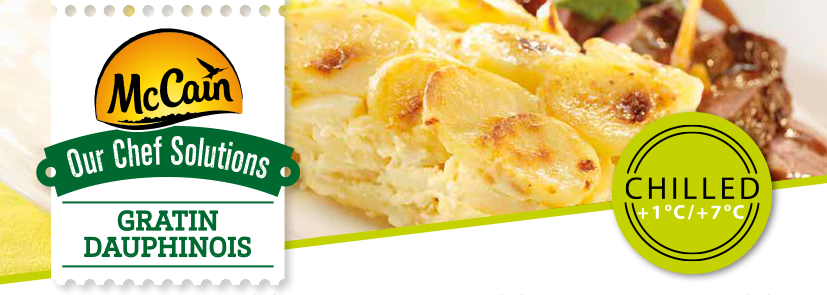 Chef Solutions - Gratin Dauphinois